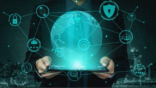 Cyber Security Digital Image Representing Recent Social Media Hacks